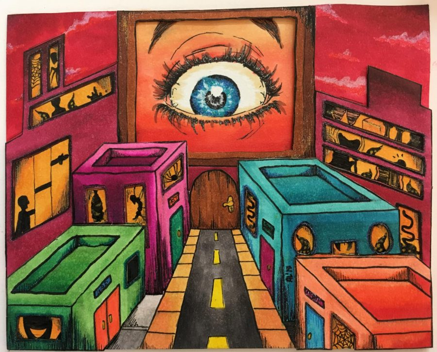 North participates in Chicagoland 4x5 art competition