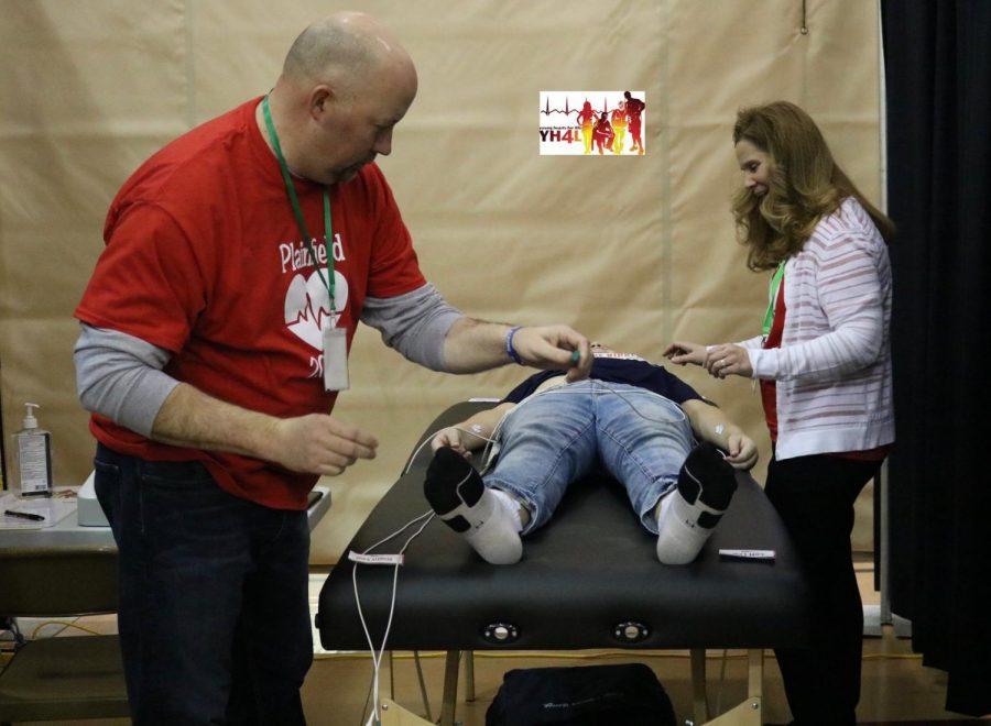 Volunteers screen 1,401 young hearts