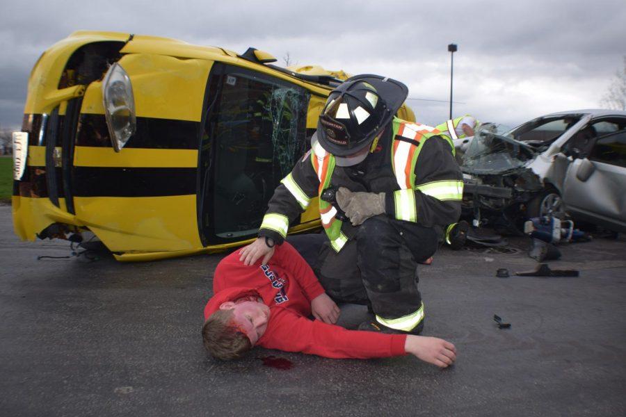 Drunk driving dangers displayed