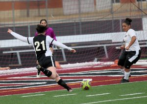 Girls' soccer ready to kick into gear