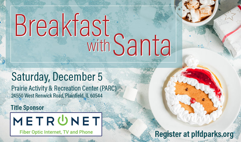 Children can listen to an interactive story while having Breakfast with Santa on Dec. 5 at the Prairie Activity & Recreation Center