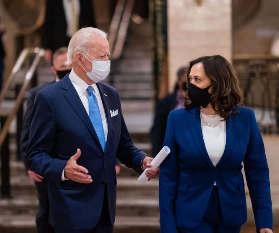 President Joe Biden and Vice President Kamala Harris on their first week in office.