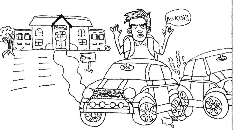 Cartoon by Julianne Pearson